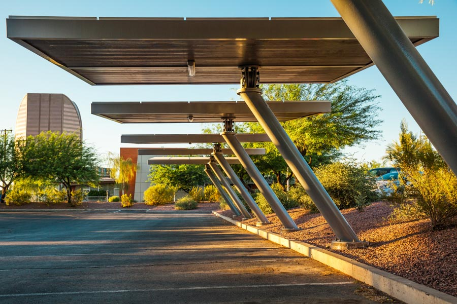 SOLARWING PV PARKING STRUCTURE - PICTURE
